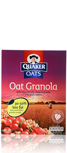 Oat Cereal Granola